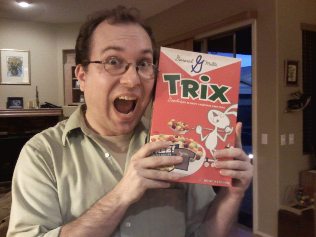 Nerding out with a Roger Bradfield retro Trix box